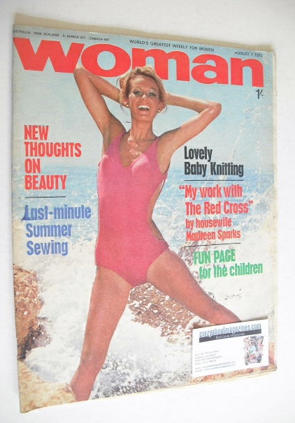 <!--1970-08-01-->Woman magazine (1 August 1970)