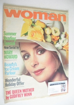 Woman magazine (8 August 1970)