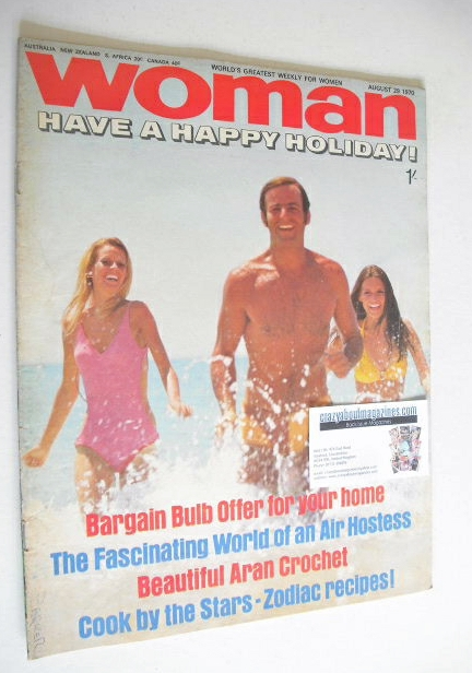 <!--1970-08-29-->Woman magazine (29 August 1970)