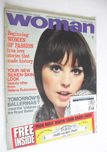 <!--1970-09-12-->Woman magazine (12 September 1970)