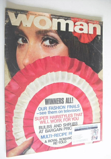 <!--1970-09-19-->Woman magazine (19 September 1970)
