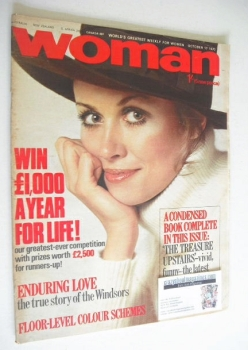 Woman magazine (17 October 1970)