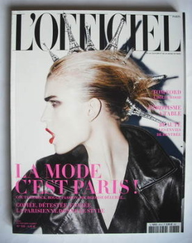 L'Officiel Paris magazine (September 2009)
