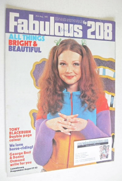 <!--1971-08-21-->Fabulous 208 magazine (21 August 1971)
