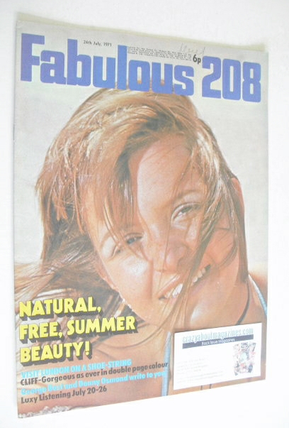 <!--1971-07-24-->Fabulous 208 magazine (24 July 1971)