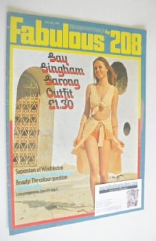 Fabulous 208 magazine (3 July 1971)
