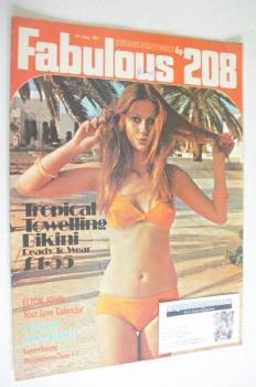 <!--1971-06-05-->Fabulous 208 magazine (5 June 1971)