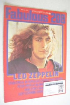 Fabulous 208 magazine (29 May 1971- Led Zeppelin cover)