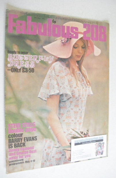 <!--1971-05-08-->Fabulous 208 magazine (8 May 1971)