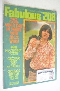 <!--1971-05-01-->Fabulous 208 magazine (1 May 1971 - Jack Wild cover)