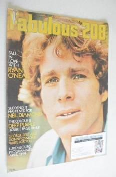 <!--1971-04-17-->Fabulous 208 magazine (17 April 1971 - Ryan O'Neal cover)