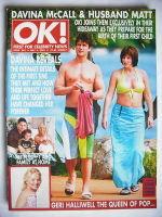 <!--2001-05-04-->OK! magazine - Matthew Robertson and Davina McCall cover (4 May 2001 - Issue 262)