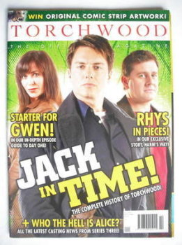 Torchwood magazine - November 2008 - Issue 10