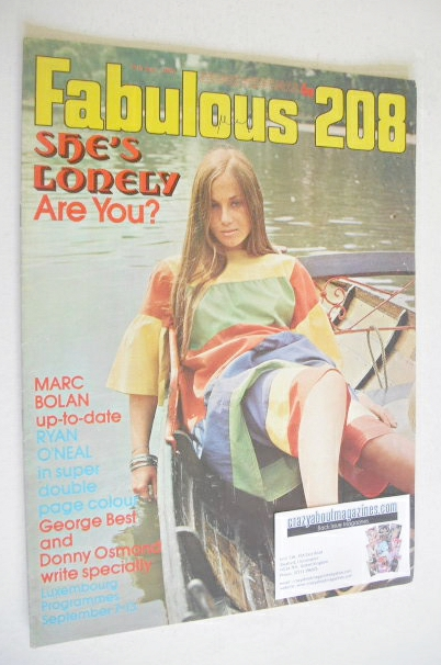 <!--1971-09-11-->Fabulous 208 magazine (11 September 1971)