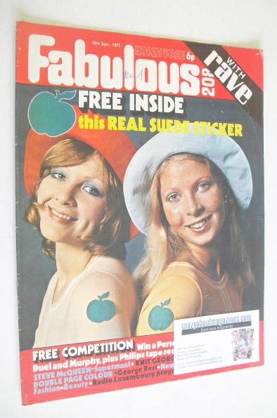 <!--1971-09-18-->Fabulous 208 magazine (18 September 1971)