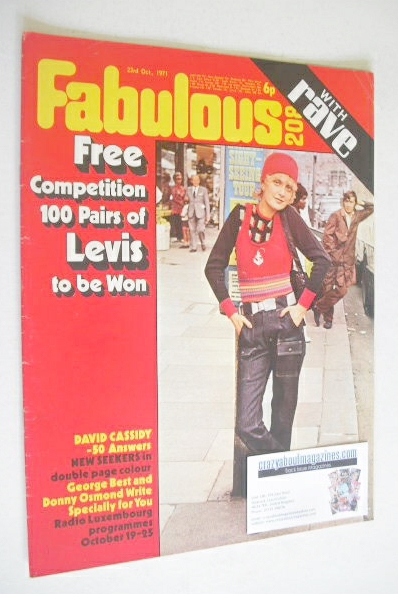 <!--1971-10-23-->Fabulous 208 magazine (23 October 1971)