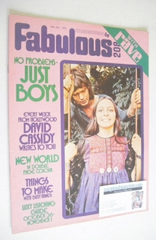 Fabulous 208 magazine (30 October 1971)