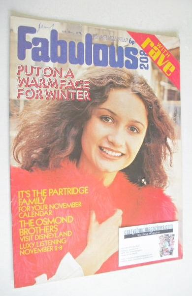 <!--1971-11-06-->Fabulous 208 magazine (6 November 1971)