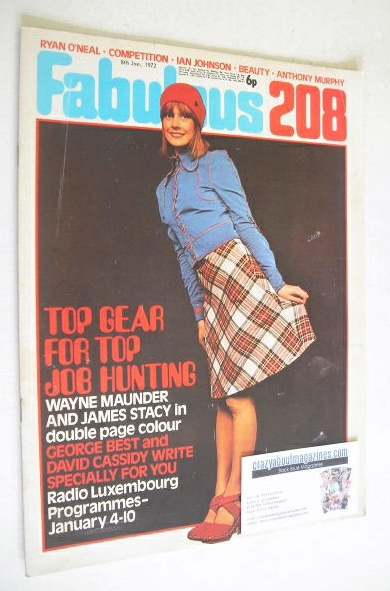 <!--1972-01-08-->Fabulous 208 magazine (8 January 1972)