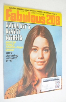 Fabulous 208 magazine (15 January 1972 - Susan Dey cover)