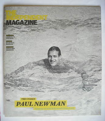 The Independent magazine - Paul Newman cover (29 August 2009)