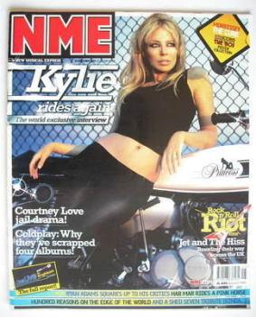 NME magazine - Kylie Minogue cover (8 November 2003)