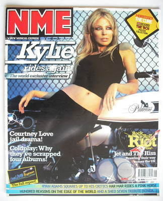 <!--2003-11-08-->NME magazine - Kylie Minogue cover (8 November 2003)