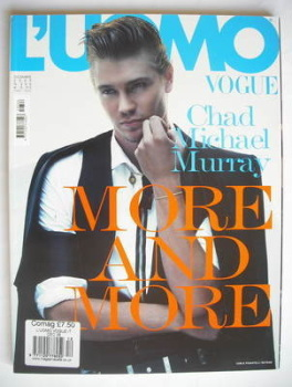 L'Uomo Vogue magazine - December 2005 - Chad Michael Murray cover