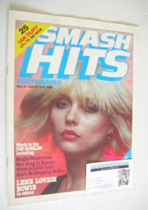 <!--1979-05-31-->Smash Hits magazine - Debbie Harry cover (31 May - 13 June