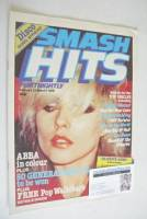 <!--1979-02-22-->Smash Hits magazine - Debbie Harry cover (22 February-7 March 1979 - No 6)