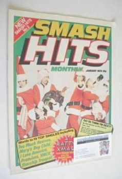Smash Hits magazine - The Boomtown Rats cover (January 1979 - Issue No 3)