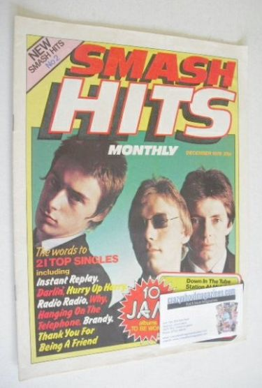 <!--1978-12-->Smash Hits magazine - The Jam cover (December 1978 - Issue No