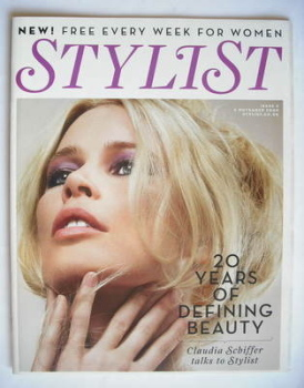 Stylist magazine - Issue 5 (4 November 2009 - Claudia Schiffer cover)