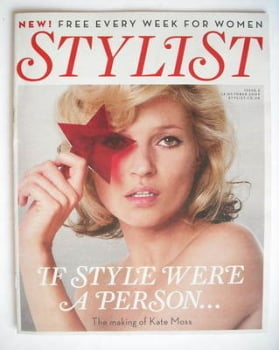 Stylist magazine - Issue 2 (14 October 2009 - Kate Moss cover)