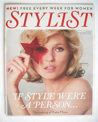 <!--0002-->Stylist magazine - Issue 2 (14 October 2009 - Kate Moss cover)