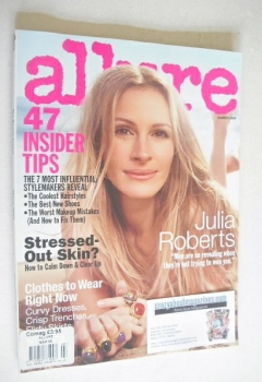 Allure magazine - March 2009 - Julia Roberts cover