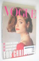 <!--1983-12-->British Vogue magazine - December 1983 (Vintage Issue)