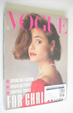 <!--1983-12-->British Vogue magazine - December 1983 (Vintage Issue)