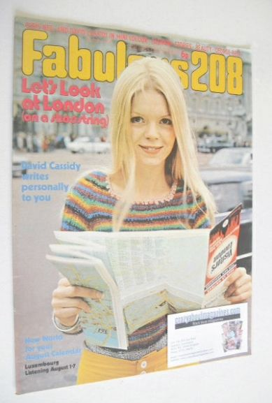 <!--1972-08-05-->Fabulous 208 magazine (5 August 1972)