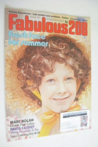 <!--1972-07-22-->Fabulous 208 magazine (22 July 1972)