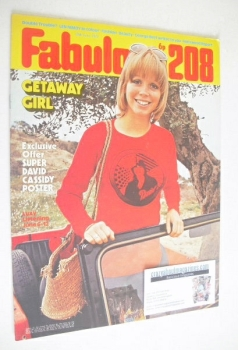 Fabulous 208 magazine (10 June 1972)