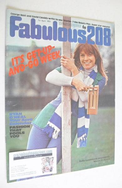 <!--1972-04-01-->Fabulous 208 magazine (1 April 1972)