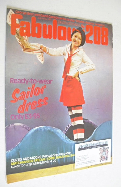 <!--1972-03-18-->Fabulous 208 magazine (18 March 1972)