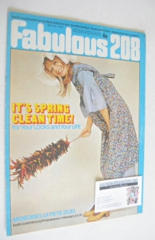Fabulous 208 magazine (26 February 1972)