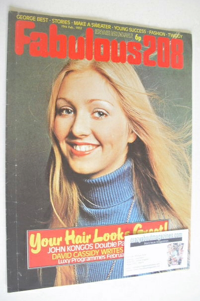 <!--1972-02-19-->Fabulous 208 magazine (19 February 1972)