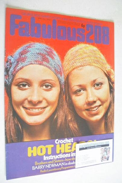 <!--1972-01-29-->Fabulous 208 magazine (29 January 1972)
