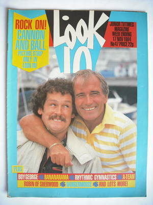 <!--1984-11-17-->Look In magazine - Tommy Cannon and Bobby Ball cover (17 N
