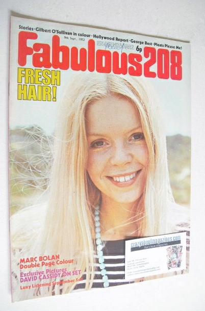 <!--1972-09-09-->Fabulous 208 magazine (9 September 1972)