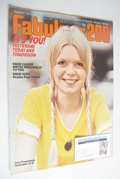 <!--1972-09-16-->Fabulous 208 magazine (16 September 1972)