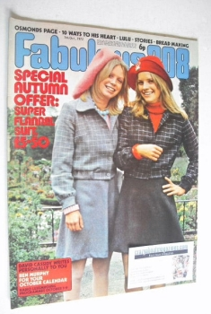 Fabulous 208 magazine (7 October 1972)